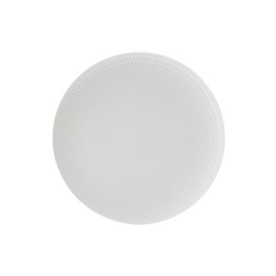 White Basics Diamon Dinner Plate 27Cm
