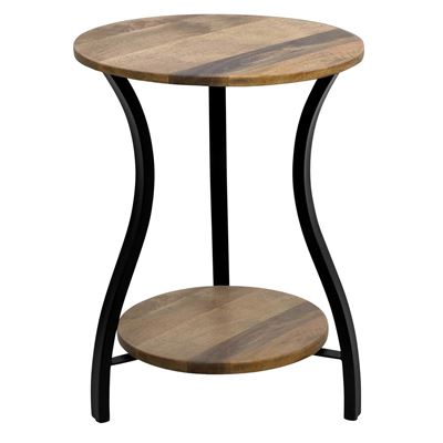 Chester Side Table 45x45x60 Black