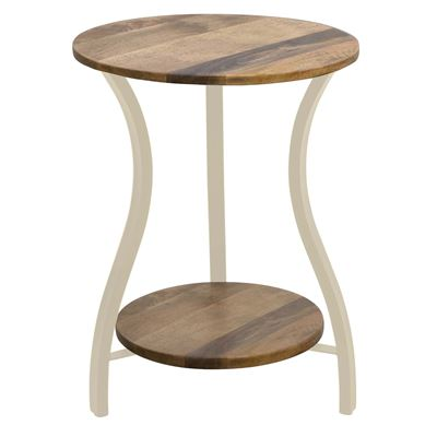 Chester Side Table 45x45x60 Cream