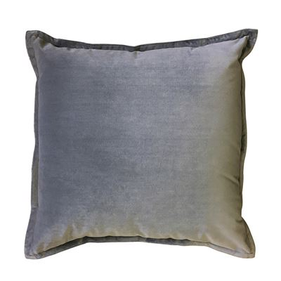 Mira Velvet Light Grey Cushion 50CM