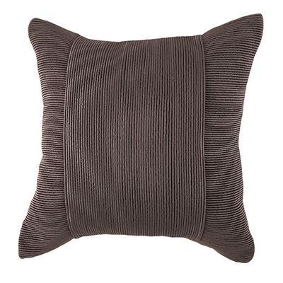 Tuxedo Square Cushion Charcoal 50x50cm