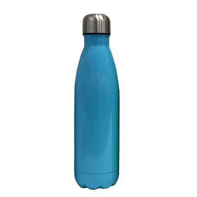 S/S bottle blue body silver cap  500ML