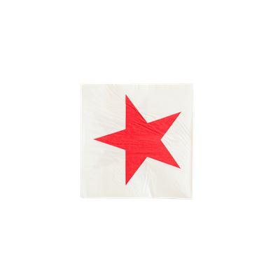 Red Star Napkin,3-layer,3333cm
