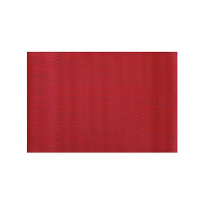 PVC Placemat Red 30x45cm