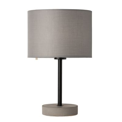 Pocketrocket Concrete & Black Lamp