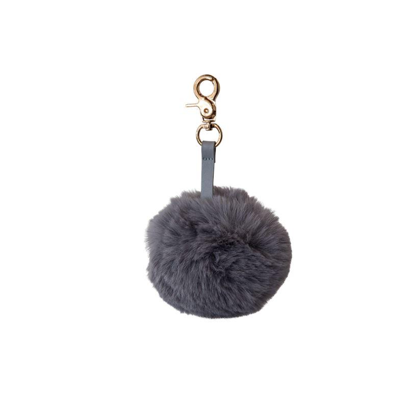 Cotton Tail Key Ring – Grey