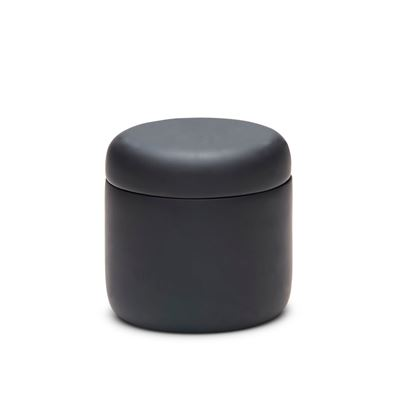 Manhattan Canister Black 10.5X10.5Cm