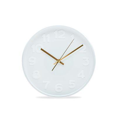 Felix Clock White 30Cm