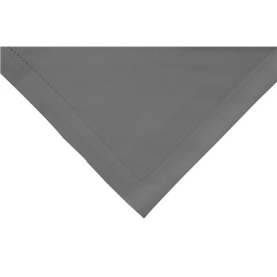 Elegant Hemstitch Napkin Grey