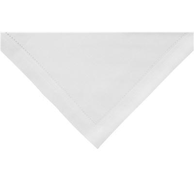 Elegant Hemstitch Napkin White