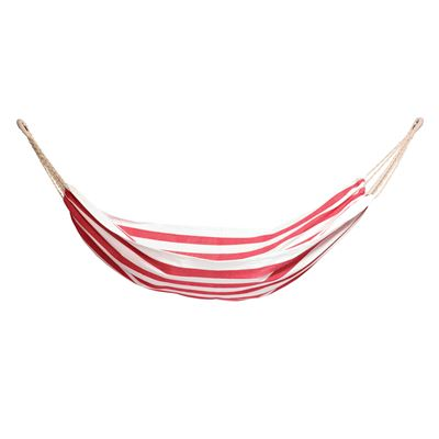 Alfresco Hammock 140x210cm Red