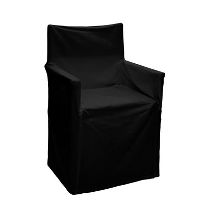 Alfresco Director Chair Covers Solid Black