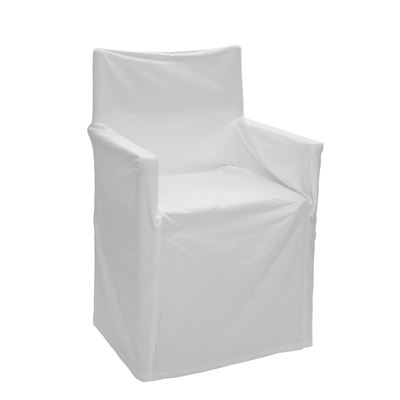 Alfresco Director Chair Covers Solid White