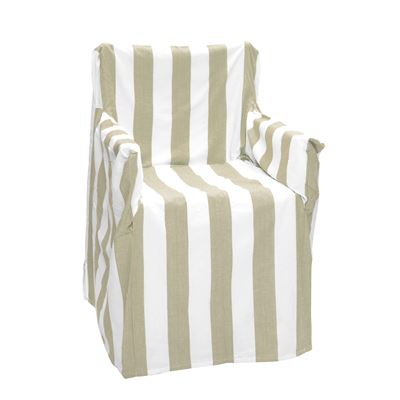Alfresco Director Chair Covers Stripe Beach Sand