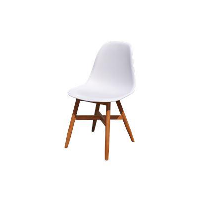 Set of 4 Lotus Dining Chair Eucalyptus Base