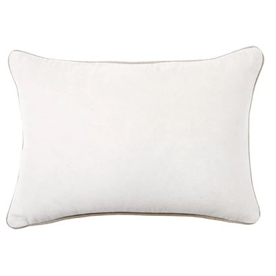 Gabriel Cushion 33x48cm White