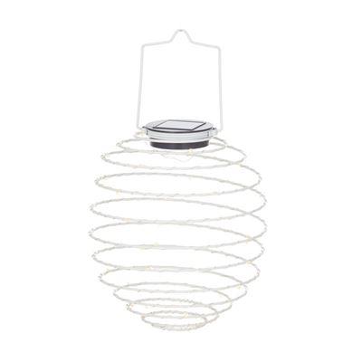 Coil Solar Lantern White