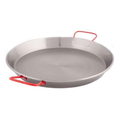 Paella Pan 50cm C Steel Polish