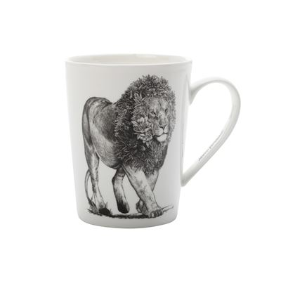 Marini Mug African Lion 450Ml Tall Gb