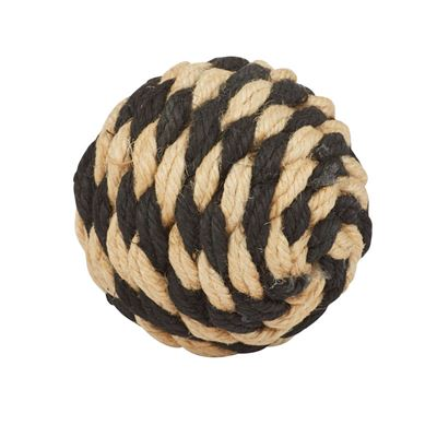 Hamptons Deco Ball 10cm Nat