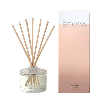 Reed Diffuser 200ml Cedarwood & Leather