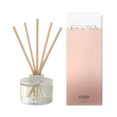 Reed Diffuser 50ml Cedarwood & Leather