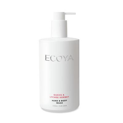 Hand & Body Wash 450ml Guava & Lychee