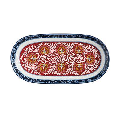 Boho Oblong Platter 33x17cm Gift Boxed