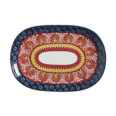 Boho Oblong Platter 40x28cm Gift Boxed