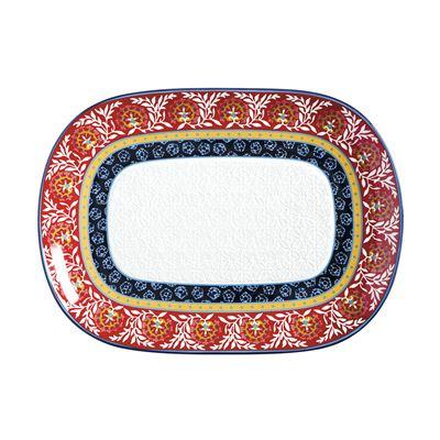 Boho Oblong Platter 45x33cm Gift Boxed