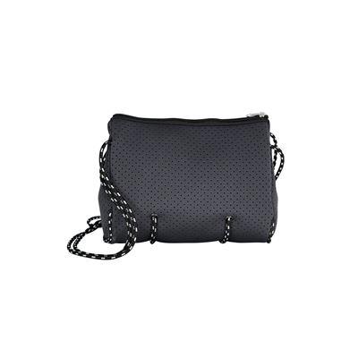 Neoprene Shoulder Bag Charcoal