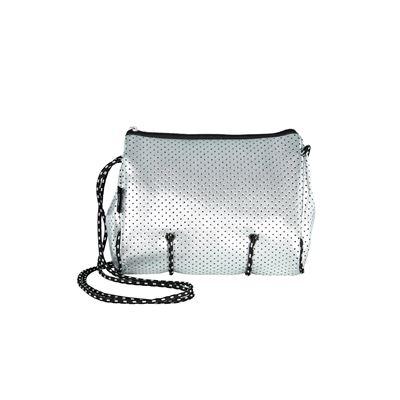 Neoprene Shoulder Bag Silver