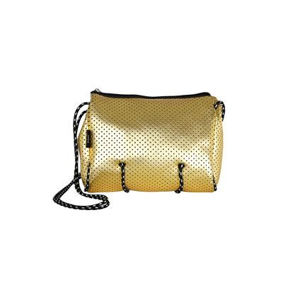 Neoprene Shoulder Bag Gold