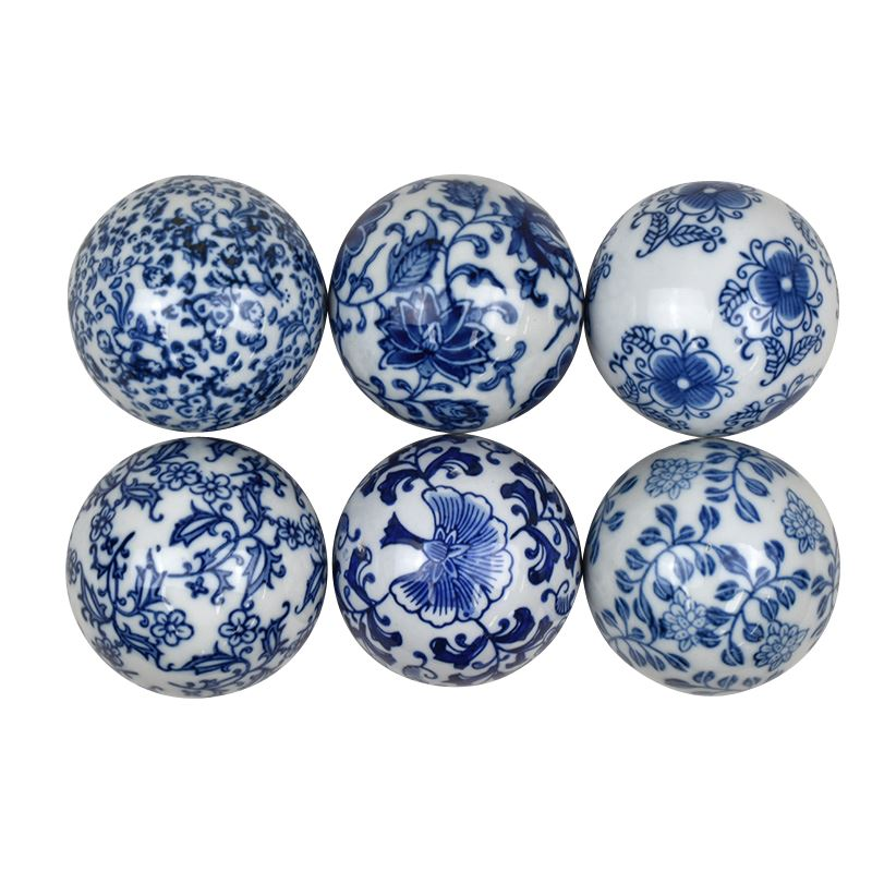 Ceramic Deco Ball 7.5cm – assorted prints