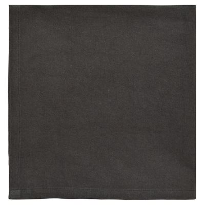 Napkin Cotton Charcoal 4 Pack 40X40cm