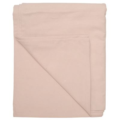 Tablecloth Cotton Pale Pink 180X320cm
