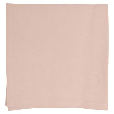 Napkin Cotton Pale Pink 4 Pack 40X40cm