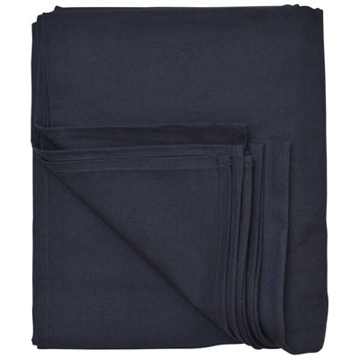 Tablecloth Cotton Navy Blue 180X320cm