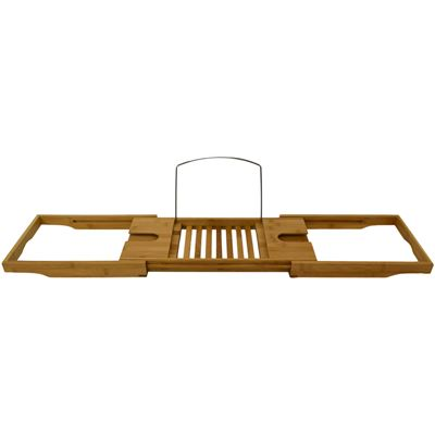 Bath Caddy Bamboo Deluxe 70x22x4cm