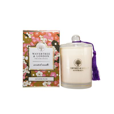 Japanese Plum Candle 60 Hour