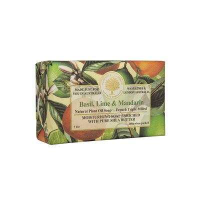 Basil, Lime & Mandarin Soap 200Gm