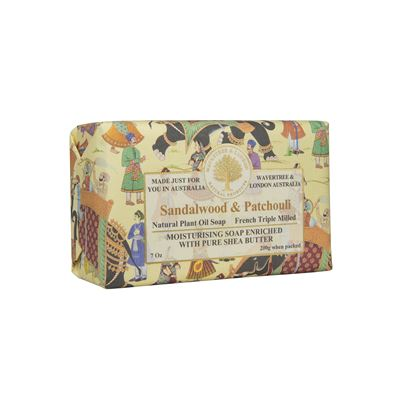Sandalwood & Patchouli Soap 200Gm