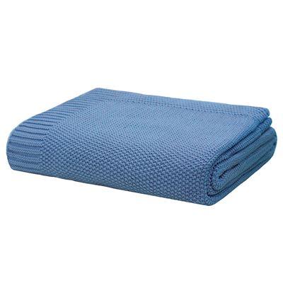 Monash Throw Rug Blue 130x170cm