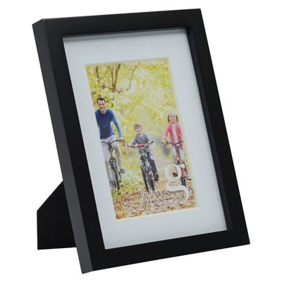 Gallery Frame Black 15x20cm - 10x15cm Open