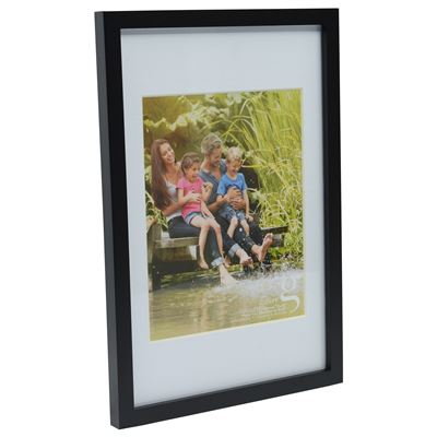 Gallery Frame Black 25x30cm - 20x25cm Open