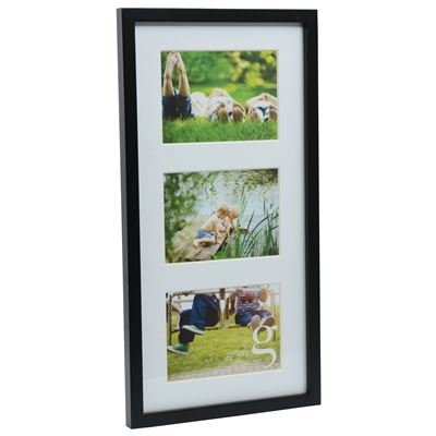 Gallery Frame Black 25x50cm - 3 Open