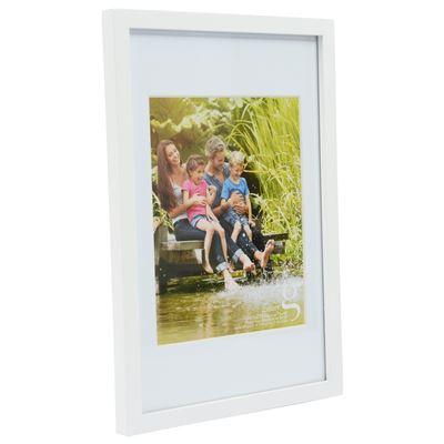 Gallery Frame White 25x30cm - 20x25cm Open