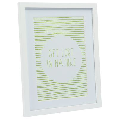 Gallery Frame White 27.5x35cm - A4 Open