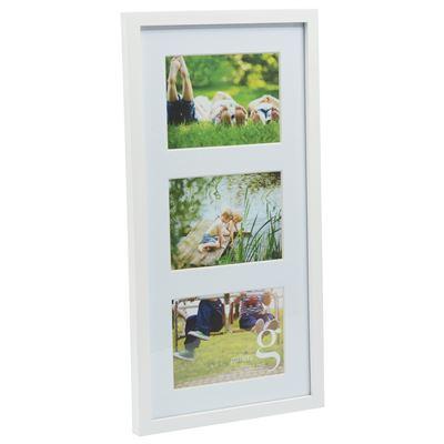 Gallery Frame White 25x50cm - 3 Open