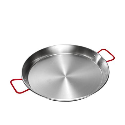 Paella Pan 42cm Stainless Steel